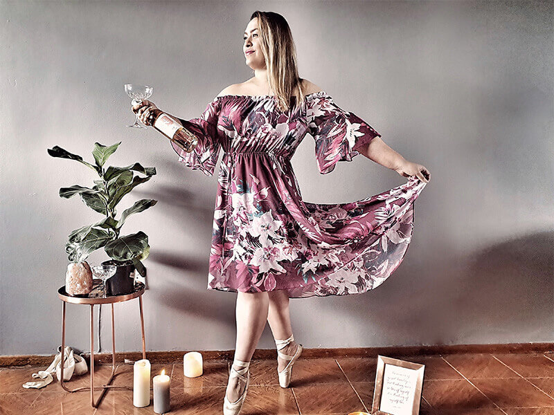 Megan Daniels - Shades Of Rose - Mid Image 1