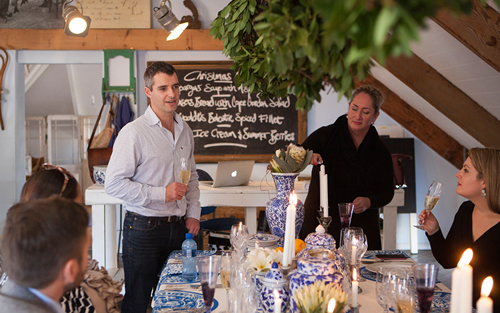 Christmas in July with KWV Empyrean Collective and Chef Mynhardt Joubert