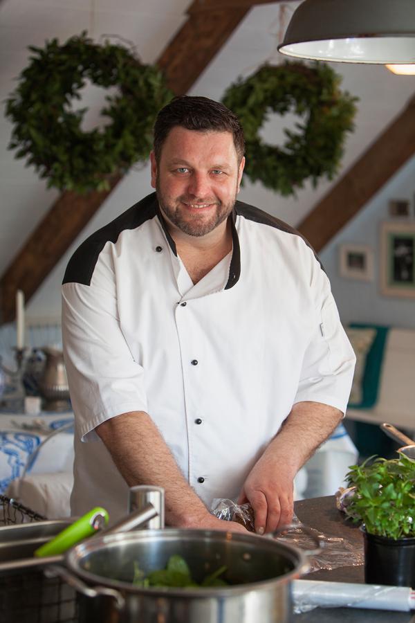 Chef Mynhardt Joubert cooks from Peter Veldsman's new book