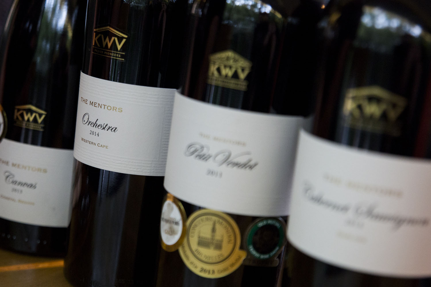 KWV The Mentors' reputation for quality reaches Michelin-star restaurant