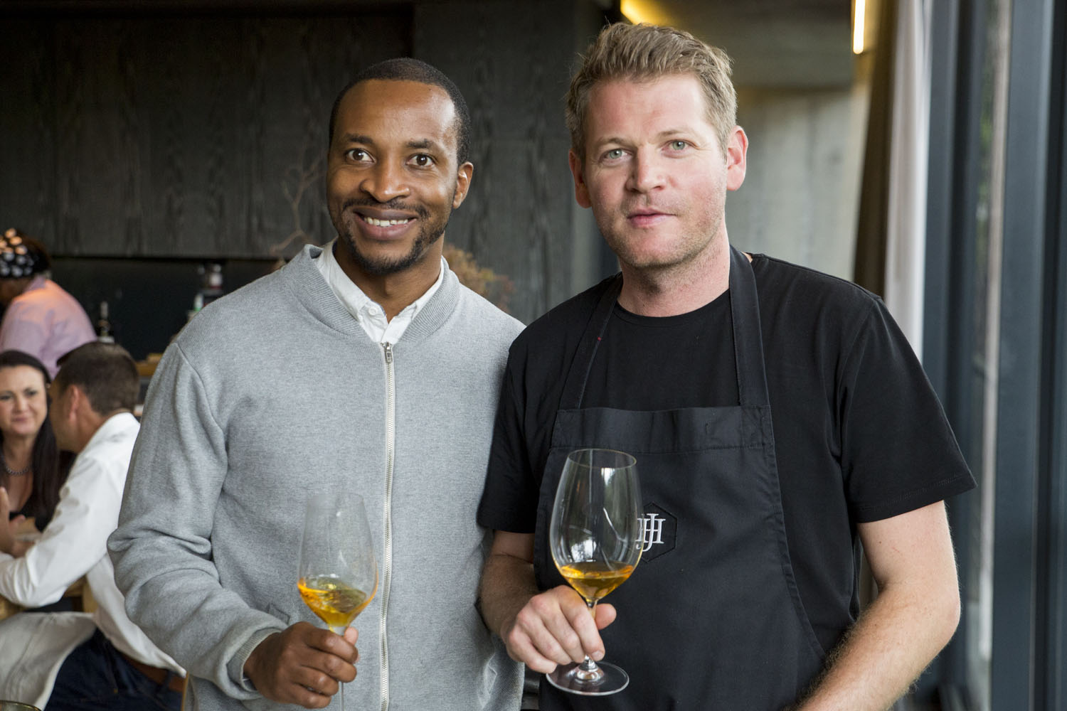 Tinashe Nyamudoka sommelier at Test Kitchen with Chef Jan Hendrik ...