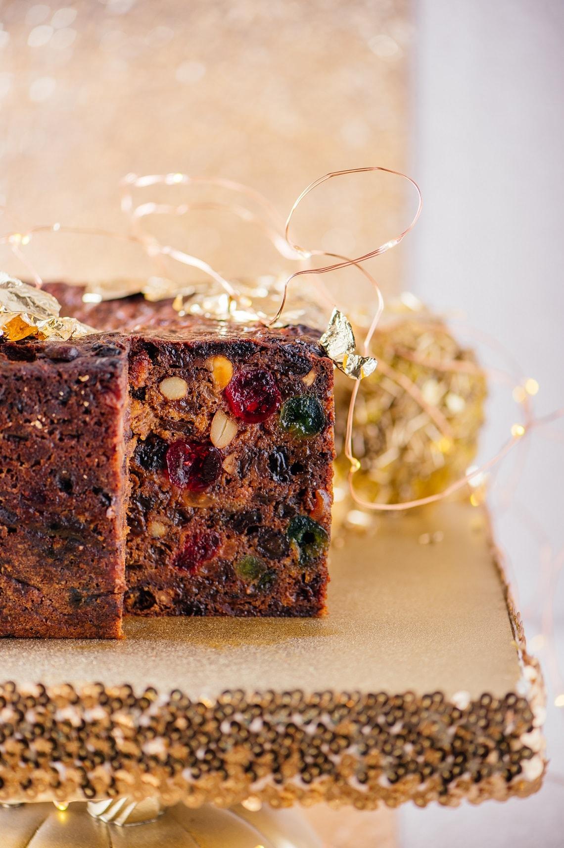 Chef Mynhardt's heavenly fruitcake to warm hearts this festive season