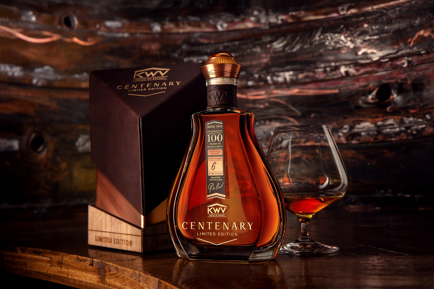 KWV's exclusive Centenary highest rated product in Platter's 2020