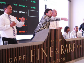 Wine auctions during a global pandemic
