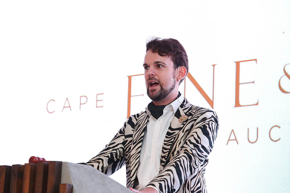 Cape Fine & Rare Wine Auction - Charlie Foley Christies Auctioning