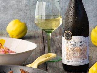 Cathedral Cellar 'hunkers down' with the gift of Chardonnay and quince
